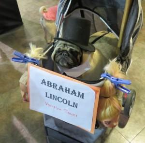 Abraham Lincoln Pug