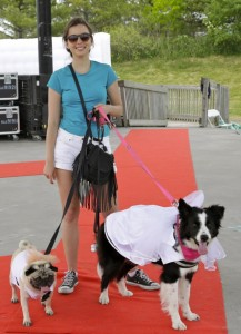 Woofstock red carpet