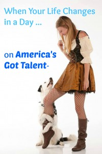 Sara and Hero the Super Collie Auditioned for America's Got Talent and their lives changed in a day. Read the full story here